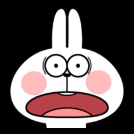 ウサギさん2 - Sticker 6