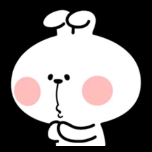 ウサギさん2 - Tray Sticker
