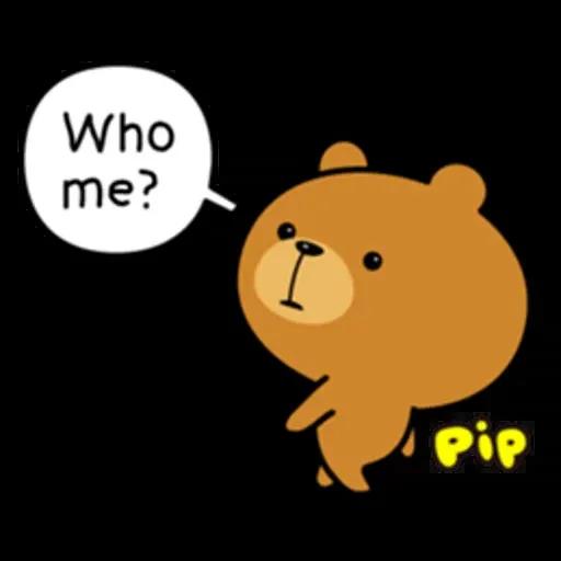 Bear 2 - Sticker 24