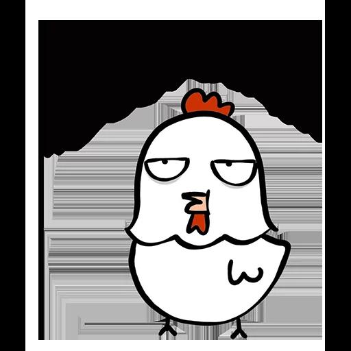 欠扁鸡 - Sticker 8
