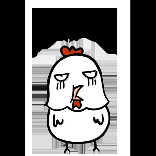 欠扁鸡 - Sticker 15