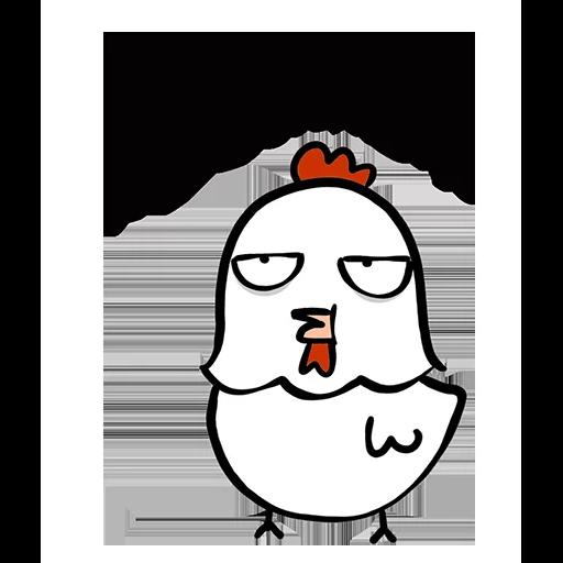 欠扁鸡 - Sticker 9