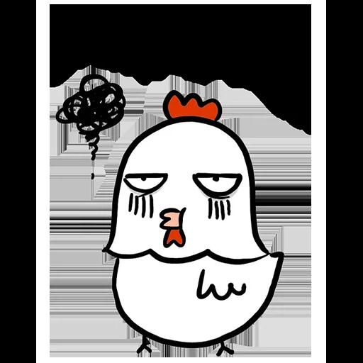 欠扁鸡 - Sticker 25