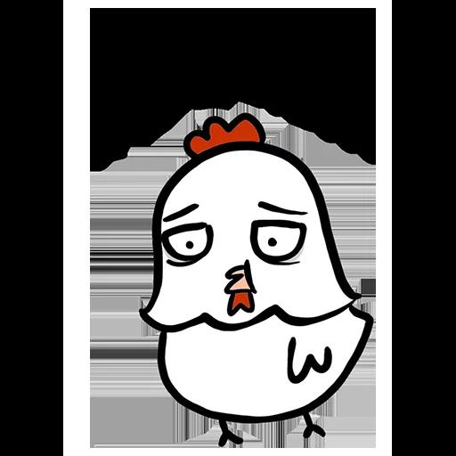 欠扁鸡 - Sticker 16