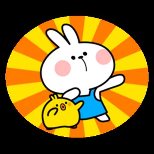 spoilt rabbit apron - Sticker 29