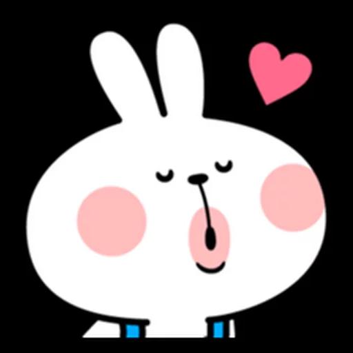 spoilt rabbit apron - Sticker 25