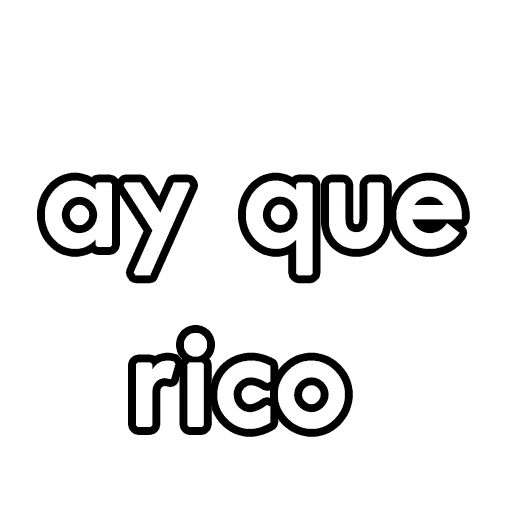 letras - Sticker 20