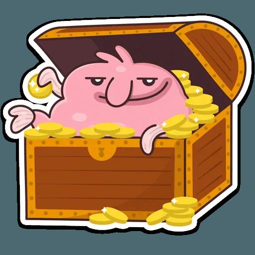 Pink Fish - Sticker 14