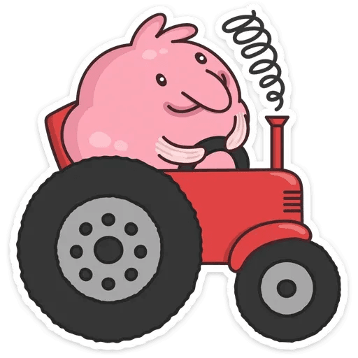 Pink Fish - Sticker 9