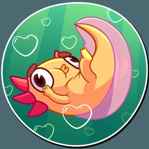 Mexican Axolotl - Sticker 9