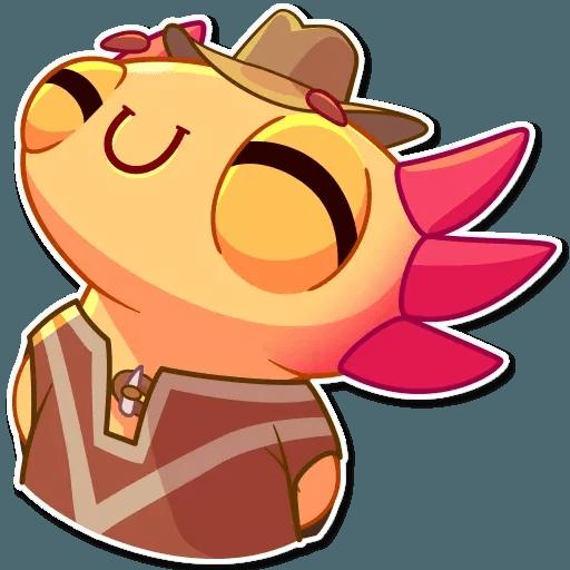 Mexican Axolotl - Sticker 6