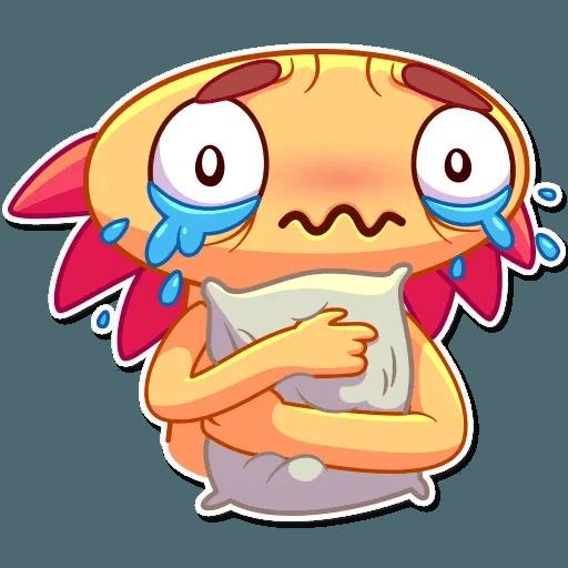 Mexican Axolotl - Sticker 23