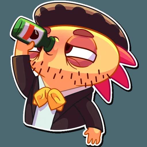 Mexican Axolotl - Sticker 27