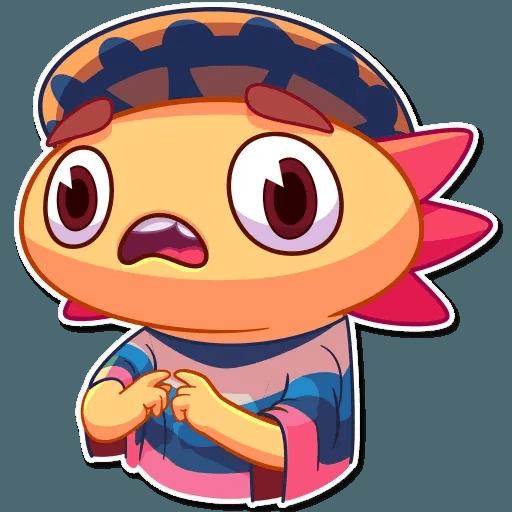 Mexican Axolotl - Sticker 21