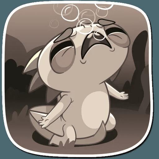 Mexican Axolotl - Sticker 14