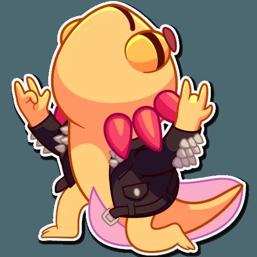 Mexican Axolotl - Sticker 22
