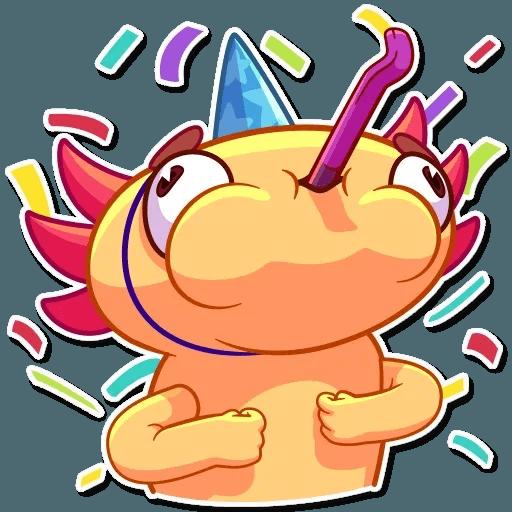 Mexican Axolotl - Sticker 24
