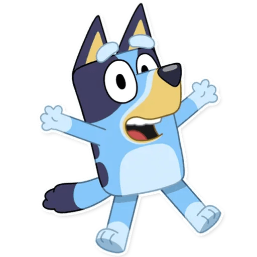 Bluey I - Tray Sticker