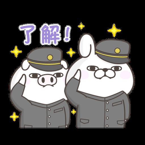 YOSISTAMP Rabbit 100% and Friends - Sticker 27