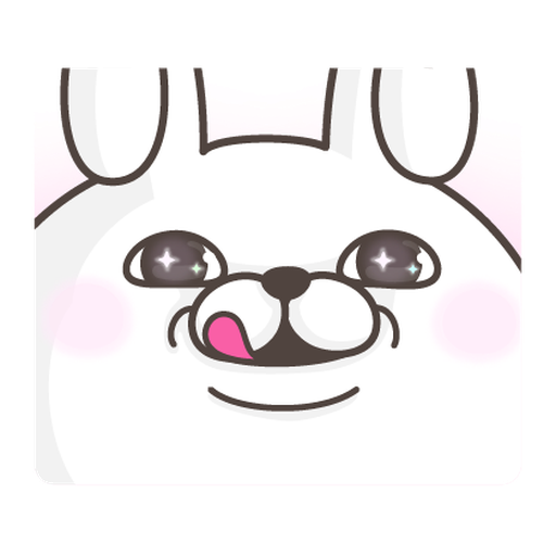 YOSISTAMP Rabbit 100% and Friends - Sticker 7