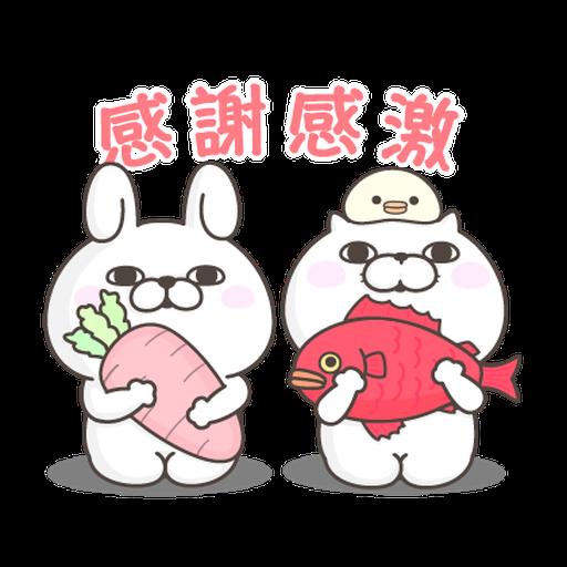 YOSISTAMP Rabbit 100% and Friends - Sticker 26