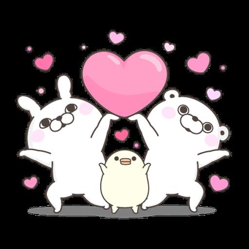 YOSISTAMP Rabbit 100% and Friends - Sticker 14