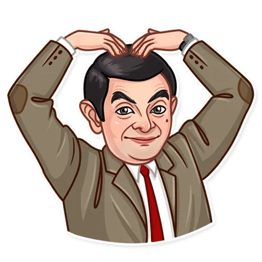Mr. Bean - Sticker 24