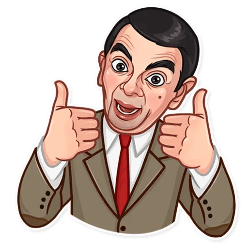 Mr. Bean - Sticker 4