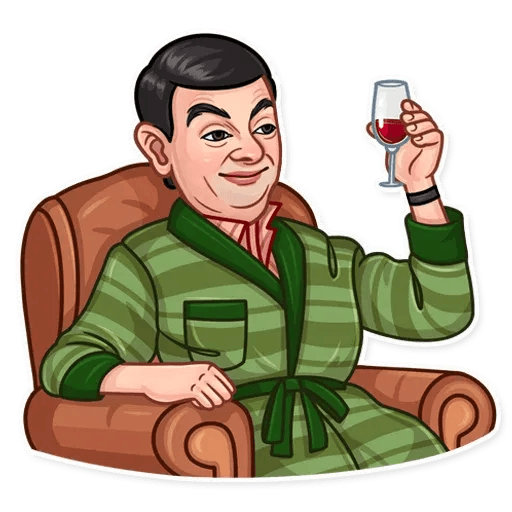 Mr. Bean - Sticker 12