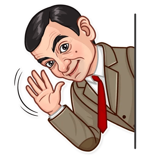 Mr. Bean - Sticker 8