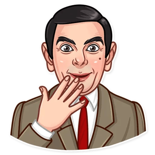 Mr. Bean - Sticker 18