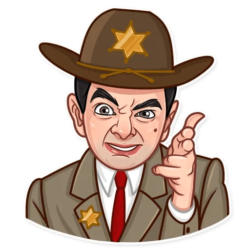 Mr. Bean - Sticker 20