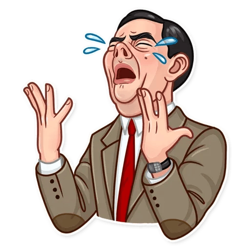 Mr. Bean - Sticker 10