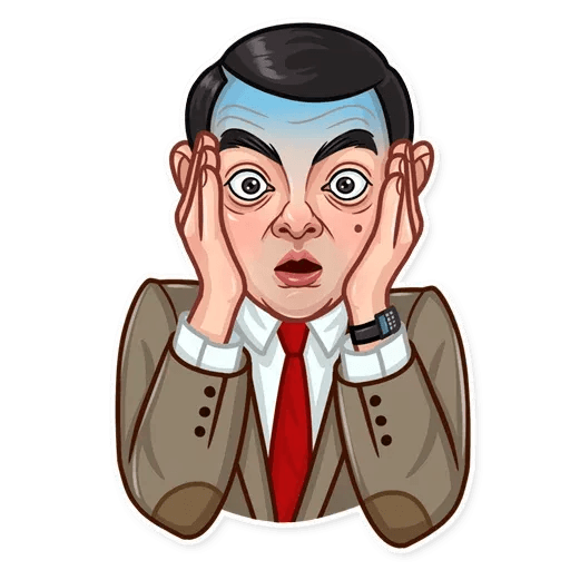 Mr. Bean - Sticker 5
