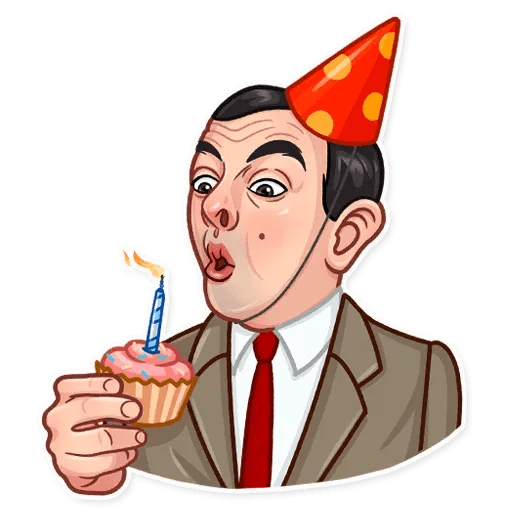 Mr. Bean - Sticker 13