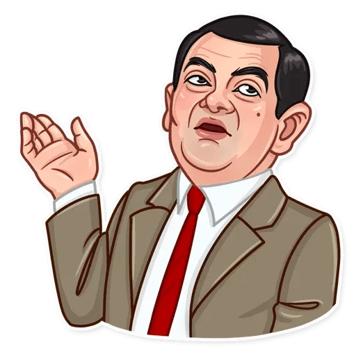 Mr. Bean - Sticker 19