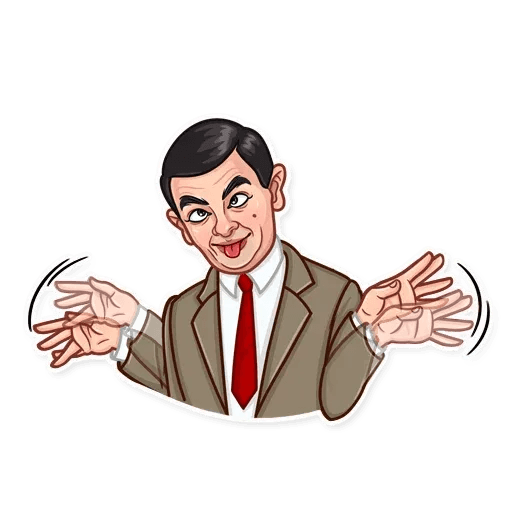 Mr. Bean - Sticker 14