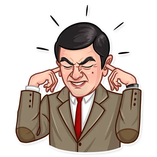 Mr. Bean - Sticker 25