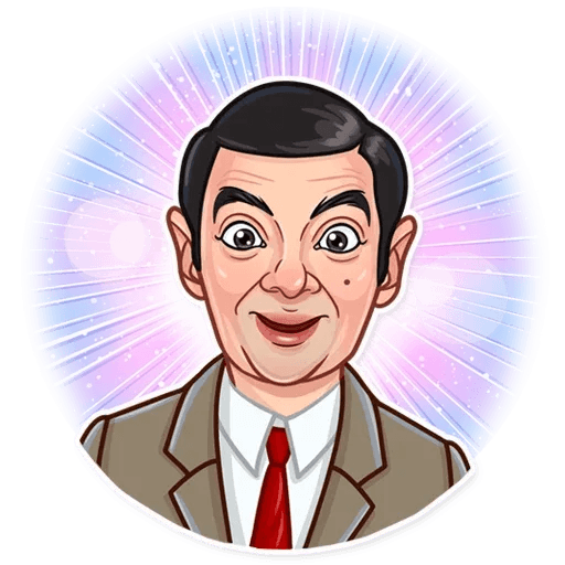 Mr. Bean - Sticker 15