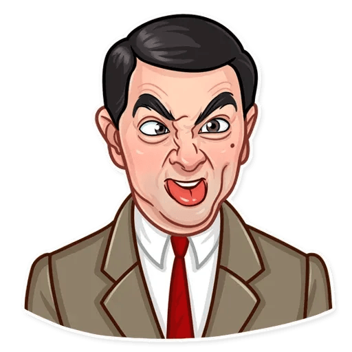 Mr. Bean - Sticker 17