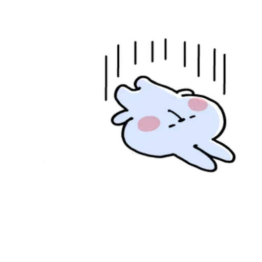 Spoiled rabbit small - Sticker 4