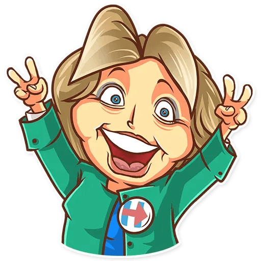 Clinton vs. Trump - Sticker 3