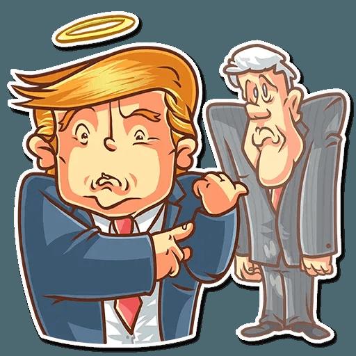 Clinton vs. Trump - Sticker 30