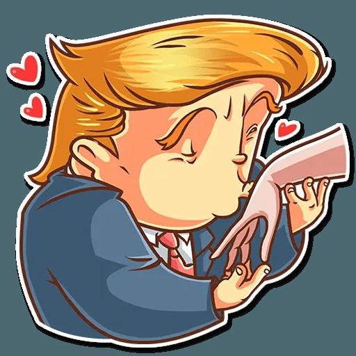 Clinton vs. Trump - Sticker 7