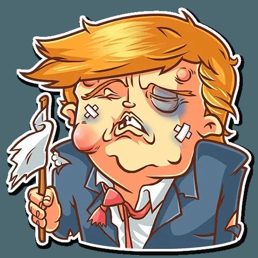 Clinton vs. Trump - Sticker 18