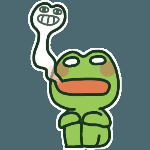 Frog - Sticker 10