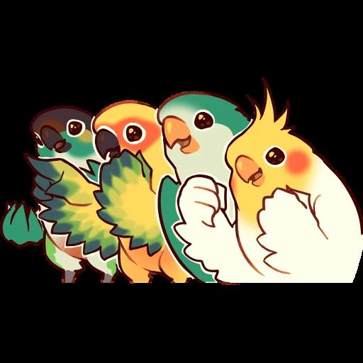 Bird1 - Sticker 14