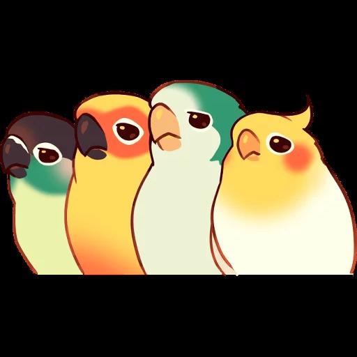 Bird1 - Sticker 13