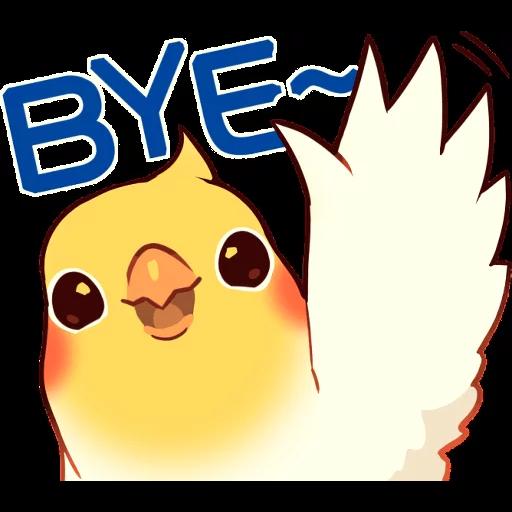 Bird1 - Sticker 2