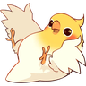 Bird1 - Tray Sticker